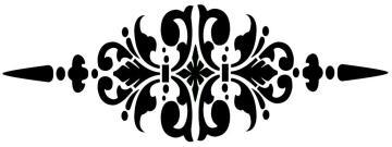 Stencils GRANNY B'S studio floor design