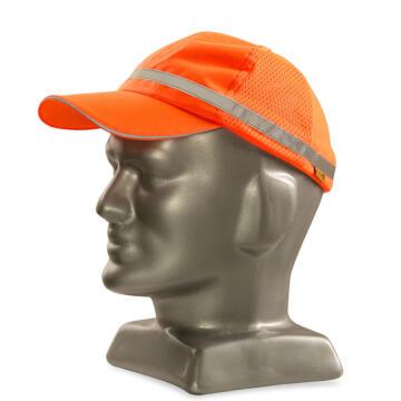 Safety Baseball Cap DROMEX Orange Reflective