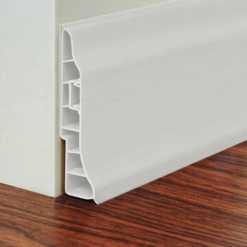 PVC Skirting White 95X24mm 2.5M long