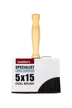 Roof brush HAMILTONS specialist 50x150mm