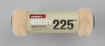 Multipurpose roller HAMILTONS woolpro 225mm for medium textured surfaces