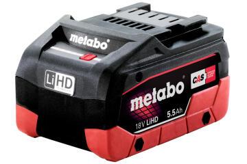 Battery Lithium METABO Lihd 18 V 5.5Ah