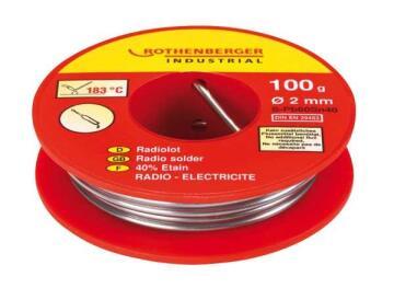 Solder Wire Radio Rothenberger 100Gr