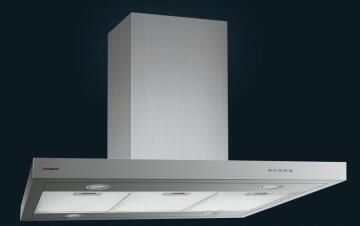 Kitchen Extractor Island 90Cm Ss Ch90Lin-Is