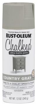 Chalked ultra matt paint RUST-OLEUM country gray 340g