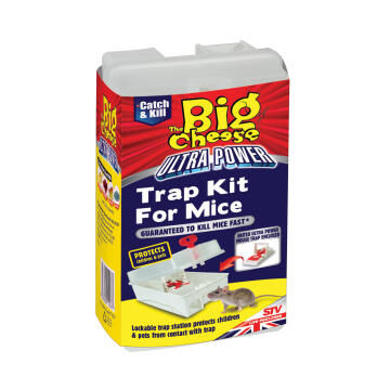 Big Cheese Ultra Power Trap Kit for Mice
