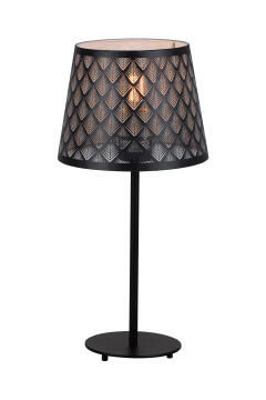 TABLE LAMP METAL & WOOD