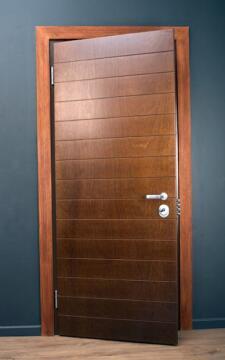 HIGH SECURITY STEEL DOOR 2030 X 1200 LEFT HAND