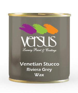 VERSUS VENETIAN STUCCO RIVERA GRY WAX 1L