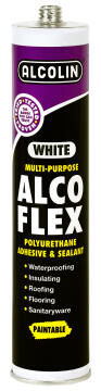 Alco flex white multi-purpose adhesive 280ml alcolin