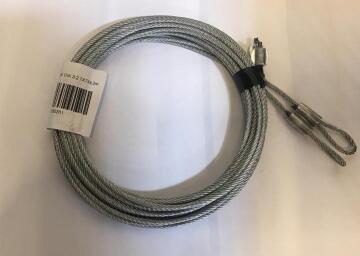 Accessory Sectional Garage Door Cable 3.2mm diameter-2800mm