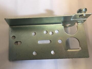 Accessory Sectional Garage Door Bottom Bracket-2mm