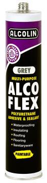 Alco flex grey multi-purpose adhesive 280ml alcolin