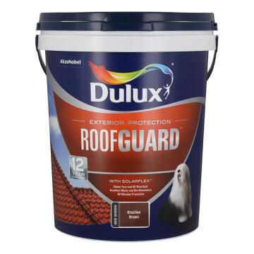 Paint roof DULUX ROOFGUARD Brazilian Brown 20L