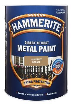 HAMMERITE HAMMERED BRONZE 5L