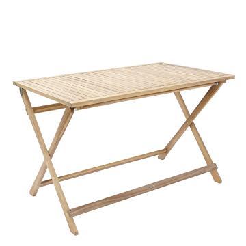 Dining Table Naterial Solis Origami 114cm x 70cm Acacia