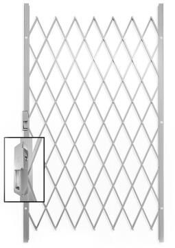 Saftidor security gate type C 1150(w)x2000mm(h) white xpanda
