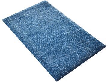 Bath mat cotton SENSEA Bubble2 light grey 50x80cm