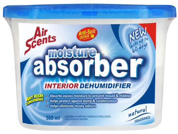 Moisture absorber AIRSCENTS natural 500ml