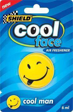 Cool face air freshener Cool man SHIELD 6ml
