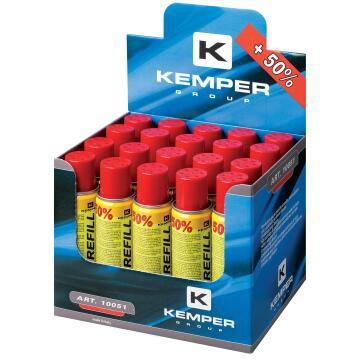 Gas cartridge KEMPER 90gr refiller for 12100kit