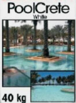 Pool Marblite Crete White 40 kg