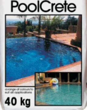 Pool Marbilite Crete Sky blue 40 kg