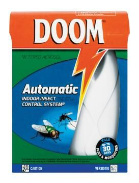 Flying insect repelant Insect killer DOOM automatic starter pack