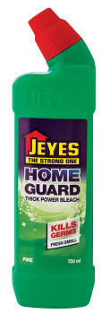 Thick bleach JEYES homeguard pine 750ml