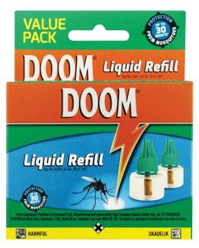 Insect repellent refill Insect killer DOOM automatic refill 240ml