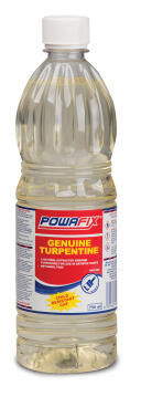 Genuine turpentine POWAFIX 750ml