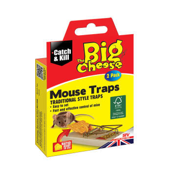 Big Cheese Mouse Trap - Twinpack