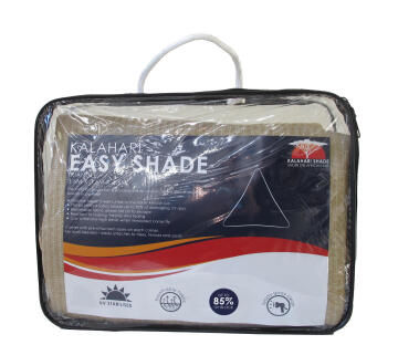 Shade Sail KALAHARI Easy Shade 3.6 m Triangular Sand