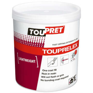 Light weight exterior filler TOUPRET 1 litre