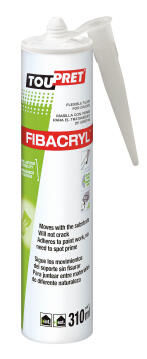 Flexible filler for cracks TOUPRET Fibacryl 310g