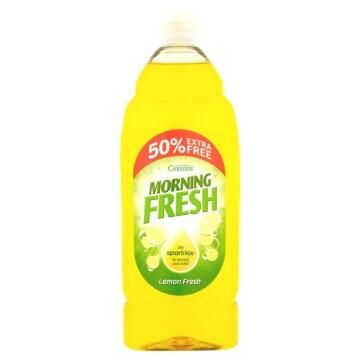 Washing Up Liquid Lemon Morning Fresh 675ml