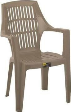 Chair Plastic Mocca