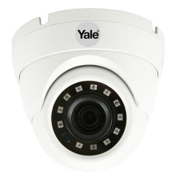 Cctv Wired Dome Camera Smart Home Yale