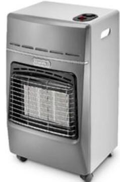 Gas Heater DELONGHI Silver