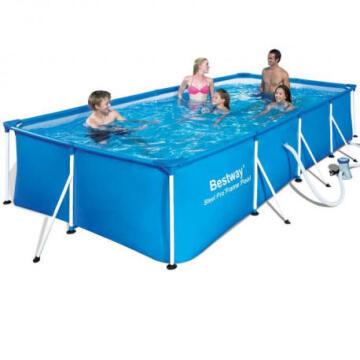 Swimming Pool 400 cm X 211 cm X 81 cm Steel Pro Frame