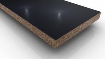Board Melamine on Chip Black 16mm thick-2750x1830mm
