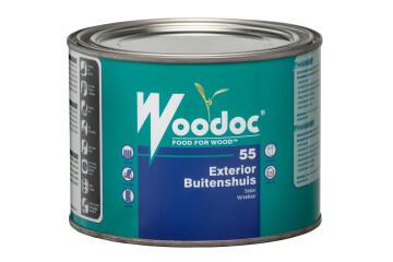 Exterior sealer WOODOC 55 (Dark Brown) Gloss 1 litre