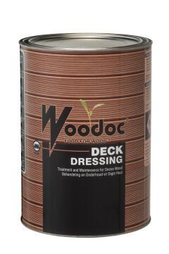 Exterior deck Dressing WOODOC (Deep Brown) 5 litres