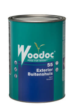 Exterior sealer WOODOC 55 (Russet) Gloss 5 litres