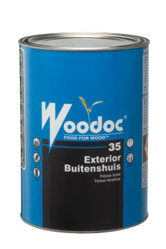 Exterior gloss sealer WOODOC 35 (Russet) Low Gloss 5 litres