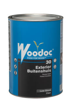 Exterior gloss sealer WOODOC 30 (Clear) Low Gloss 5 litres