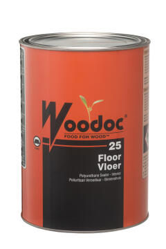 Polyurethane floor sealer WOODOC 25 Clear 5 litres