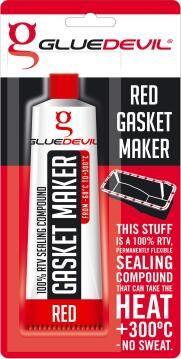 Gasket maker red 90ml gluedevil