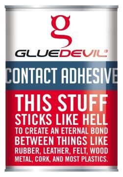 Contact adhesive gluedevil 5lt
