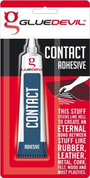 Contact adhesive 50ml gluedevil